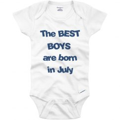 Best boys born in July
