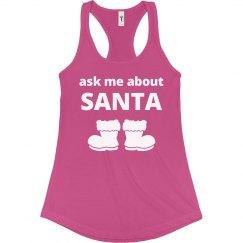 Ask Me About Santa