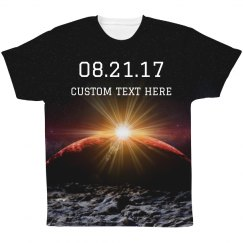 Custom Total Solar Eclipse 2017