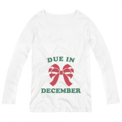 My Christmas Gift Due In December