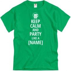 Keep Calm Party On