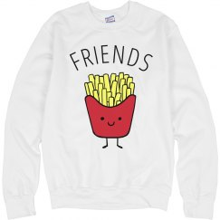 Cute French Fries And Friends