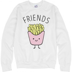Pastel French Fries And Friends