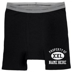 Property Of Custom Underwear