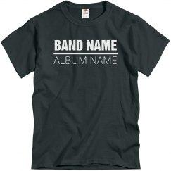 Custom Band And Album Name