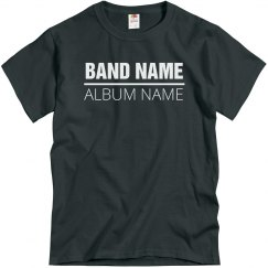 Custom Band And Album Name