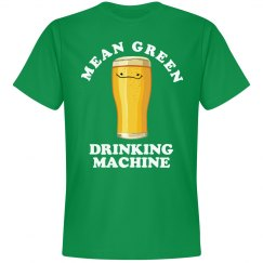 Green Irish Drinking Machine