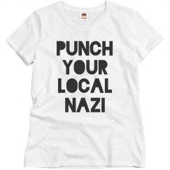 Charlottesville Punch Local Nazis