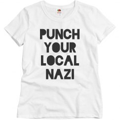 Charlottesville Punch Local Nazis