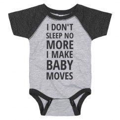No Sleep All Baby Moves