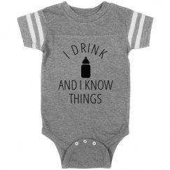 Infant Vintage Sports Bodysuit