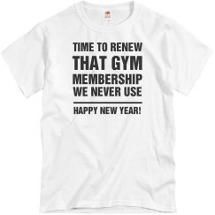 New Years New Membership