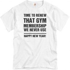 New Years New Membership