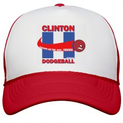 Clinton Dodgeball Hat