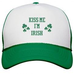 Kiss Me I'm Irish St Patricks Day Hat
