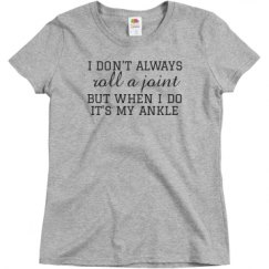 Ladies Semi-Fitted Relaxed Fit Basic Promo Tee