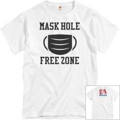 Mask Mask Free Zone