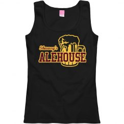 Ladies Scoopneck Tank (Black)
