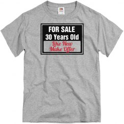 30 year old for sale