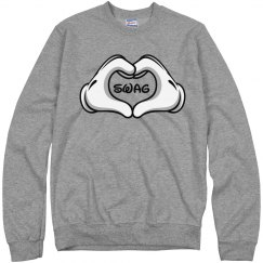 Heart Swag Cartoon Gloves