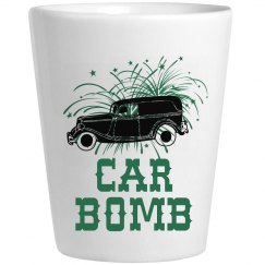 Car Bomb Shot Glass
