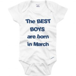 Best boys born in March