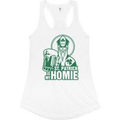 My Homie St. Patrick Irish Tank