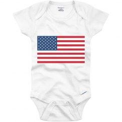 Baby's USA Pride!