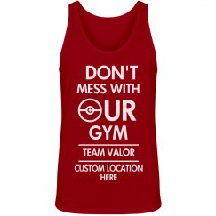 Custom Team Valor Gym Tank