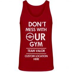 Custom Team Valor Gym Tank