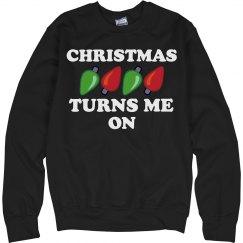 Christmas Turns Me On