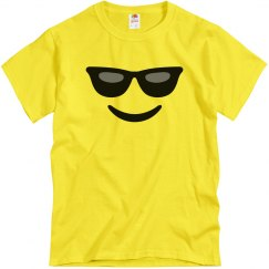 Funny Sunglasses Emoji Costume