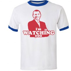 Obama I'm Watching You