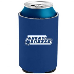 Lucky Lassie St Patricks Can Cooler Drinkware