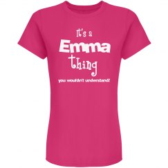 It's a emma thing