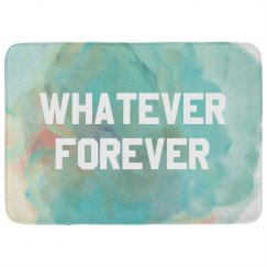 Whatever Forever Watercolor Pattern