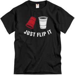 Just Flip It Tee