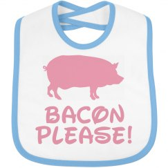 Bacon Please Bib