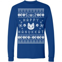 Happy Hanukkat Faux Ugly Sweater
