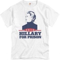Hillary Belongs in Prison 2016