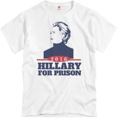 Hillary Belongs in Prison 2016