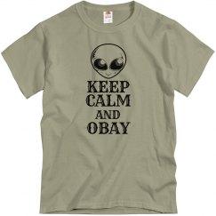 Obay the Gray T-shirt