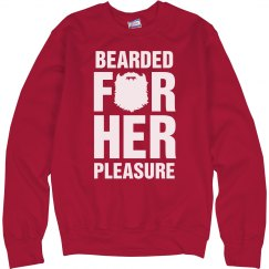 Santa's Bearded For Her Pleasure