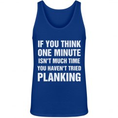 One Minute of Planking Tank