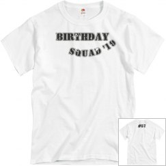 B-Day Squad Tee (Blue)