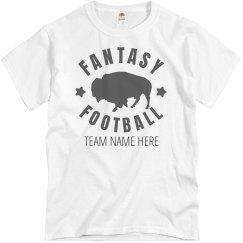 Custom Fantasy Football Tee