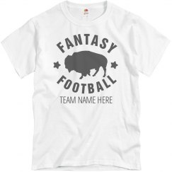 Custom Fantasy Football Tee