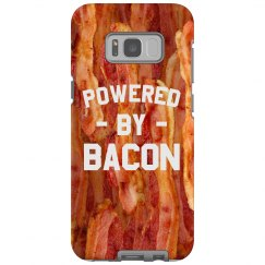Powered by Bacon Galaxy Case