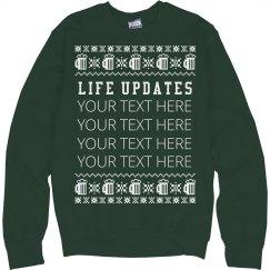 Custom Xmas Beer Sweater
