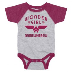 Wonder Girl Namewherew Logo